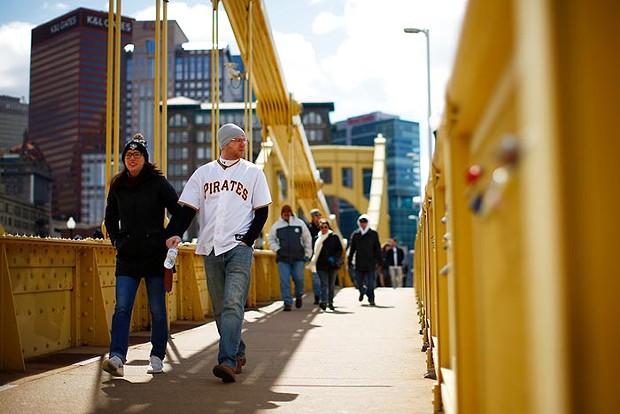 Roberto Clemente Bridge - CP PHOTO: JARED WICKERHAM
