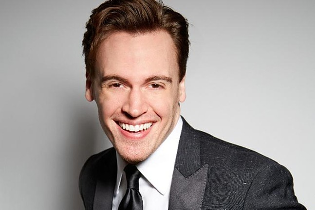 Erich Bergen at the Greer Cabaret Theater - PHOTO: COURTESY OF PITTSBURGH CULTURAL TRUST