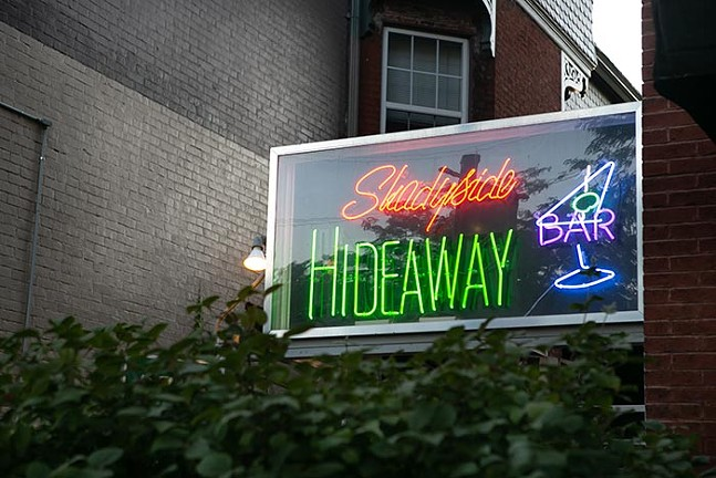 Shadyside Hideaway Bar - CP PHOTO: JOHN COLOMBO