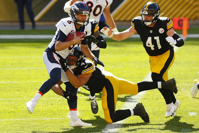 Steelers played the Denver Broncos at an empty Heinz Field in September 2020. - CP PHOTO: JARED WICKERHAM
