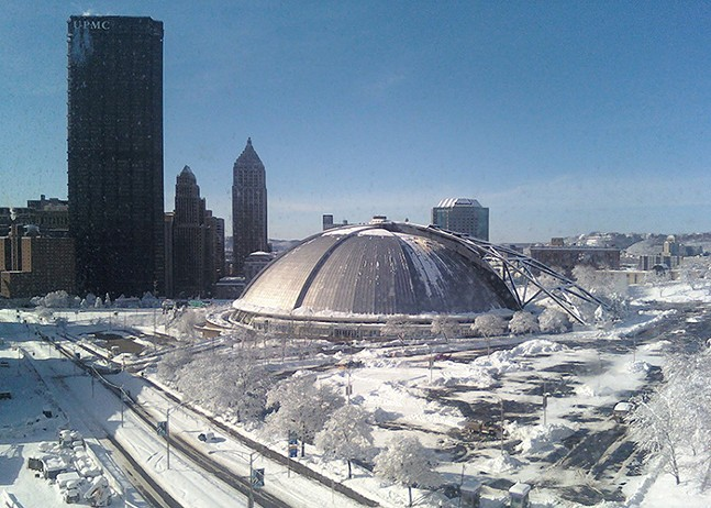 "The Civic Arena, aka, ""The Igloo,"" in 2010 - CP FILE PHOTO: ALEX GORDON"