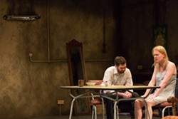 "Marty Rea and Aisling O'Sullivan in ""The Beauty Queen of Leenane"" - PHOTO COURTESY OF STEPHEN CUMMISKEY"