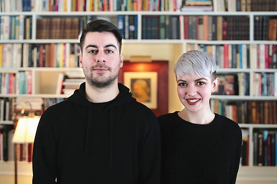 The Garment Project partners Jordan Tomb and Erin Drischler - PHOTO COURTESY OF BEN PERKINS