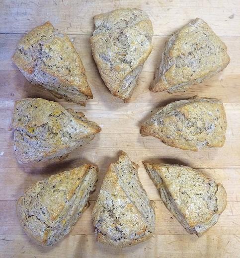 Lemon lavender scones - PHOTO COURTESY OF MATT SCHROEDER
