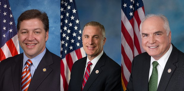 Bill Shuster (left), Tim Murphy (center), Mike Kelly (right)