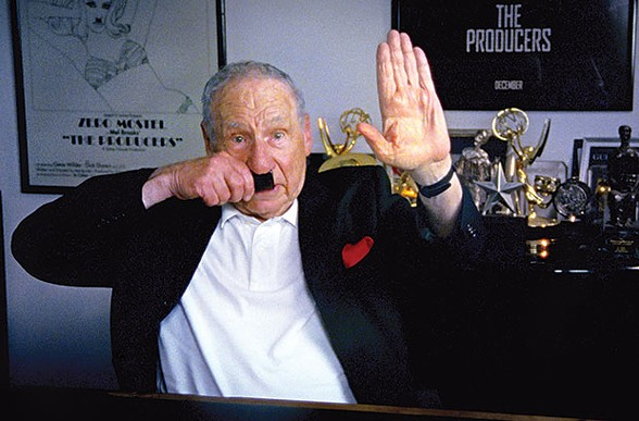 Mel Brooks in The Last Laugh