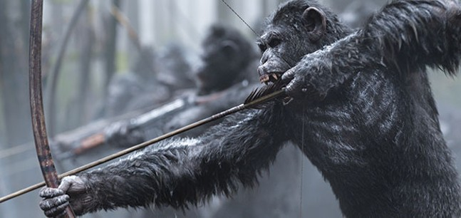 War for the Planet of the Apes, July 14