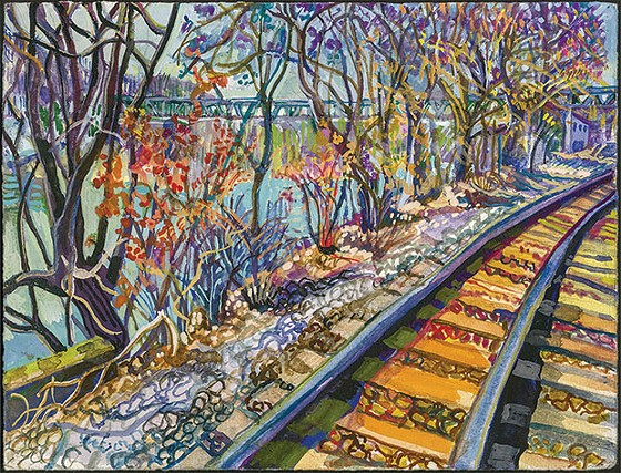 Overgrown in Pittsburgh opens June 1 at the Irma Freeman Center - ART BY JOAN BRINDLE