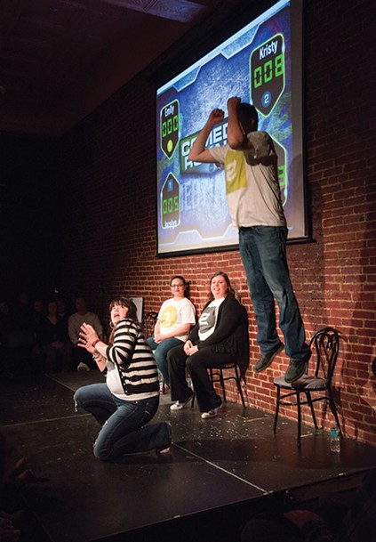 Comedy Royale, May 19, June 17, July 15 and Aug. 19 at Arcade Comedy Theater - PHOTO COURTESY OF ARCADE COMEDY THEATER
