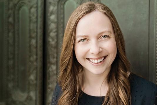 Marissa Landrigan, Aug. 3 at Pittsburgh Arts & Lectures - PHOTO COURTESY OF HEATHER KRESGE