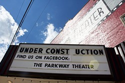 The exterior of the Parkway Theater - CP PHOTO BY KRISTA JOHNSON