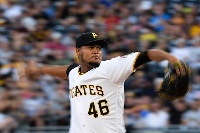 Ivan Nova didn't pitch into the 6th inning for the first time this season, but it was enough to earn a win.