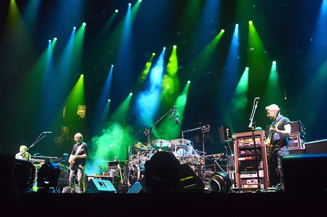 Phish performs at Petersen Events Center on Wed., July 19. - CP PHOTOS BY JORDAN MILLER
