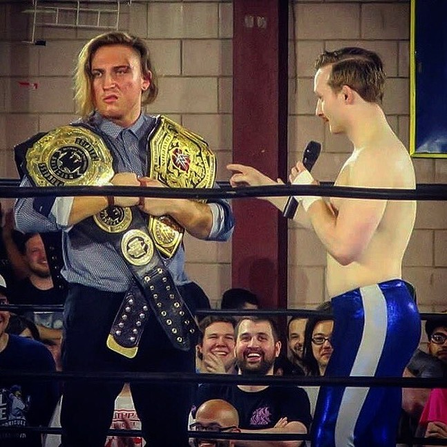 Pete Dunne, left, and Jack Gallagher - CP PHOTO BY MEG FAIR