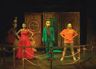 """A scene from act three of """"Mr. Burns — a post-electric play"""" - PHOTO COURTESY OF HANK BULLINGTON"""