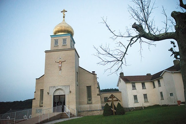 California, Pa.'s new Roma immigrants can benefit the town, possibly by filling its recently vacated Orthodox Christian church. - CP PHOTO BY CAROLINE MOORE
