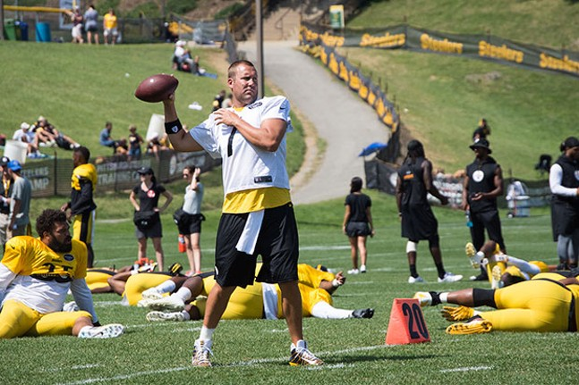 Ben Roethlisberger - CP PHOTO BY JAKE MYSLIWCZYK