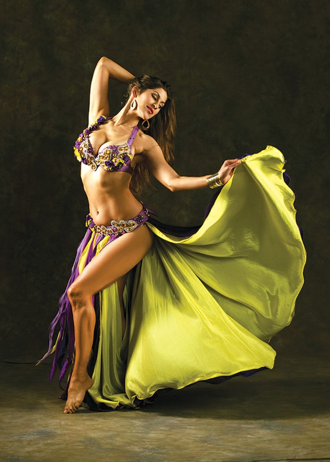 Sadie Marquardt, Sept. 23 and 24 - PHOTO COURTESY OF GOLDEN GUN FUSION BELLYDANCE