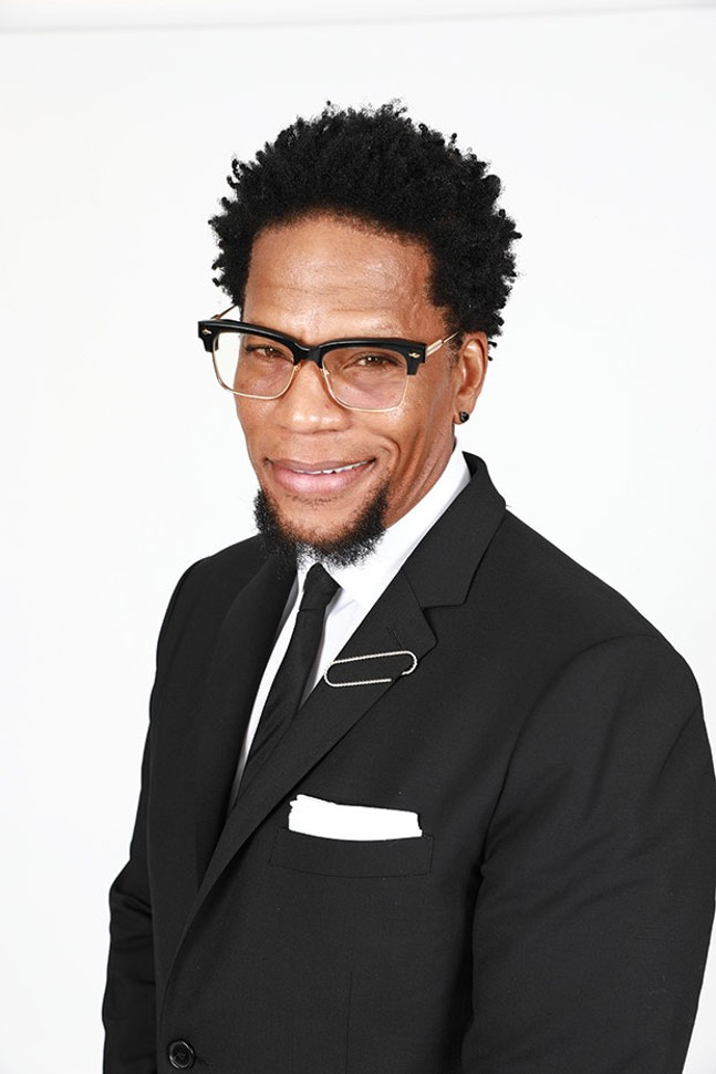D.L. Hughley, Nov. 10-12 at the Improv - PHOTO COURTESY OF SHANNON MCCOLLUM