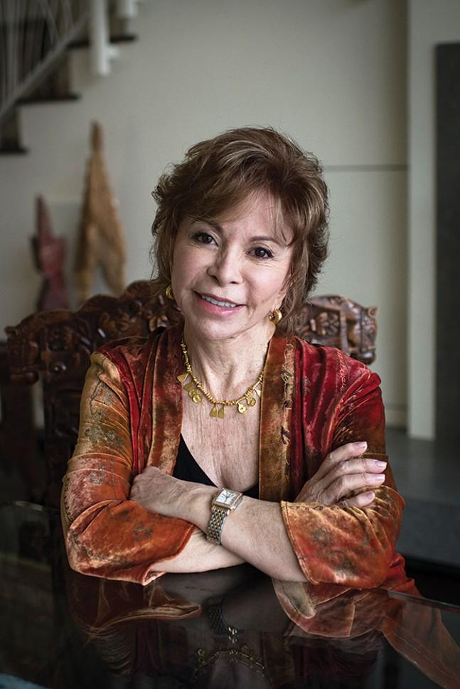 Isabel Allende at Pittsburgh Arts & Lectures, Nov. 13
