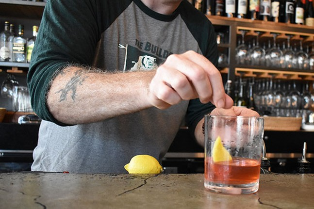 The Sazerac - PHOTO COURTESY OF SEAN ENRIGHT