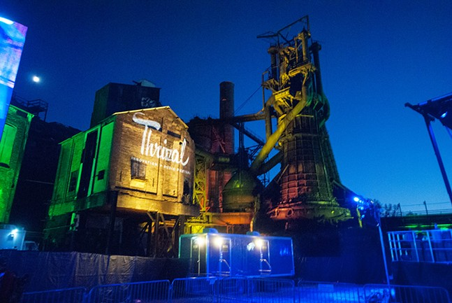 Thrival Music Festival returned to the Carrie Furnaces Sept. 29-30. - CP PHOTOS BY JAKE MYSLIWCZYK