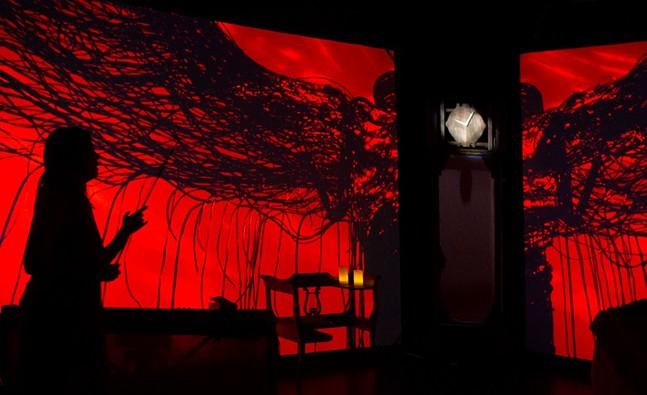 Visuals by Anna Henson - PHOTO COURTESY OF VIA MUSIC FESTIVAL