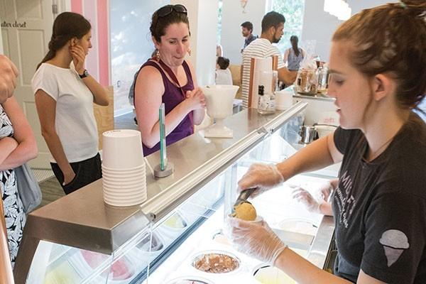 Millie's, winner of Best Ice Cream - CP PHOTO BY JOHN COLOMBO