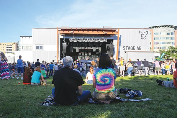 Best Local Music Venue Stage AE - PHOTO BY MIKE SCHWARZ
