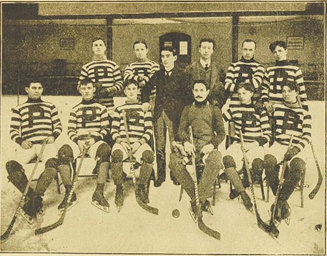 The Pittsburgh Professionals Hockey team
