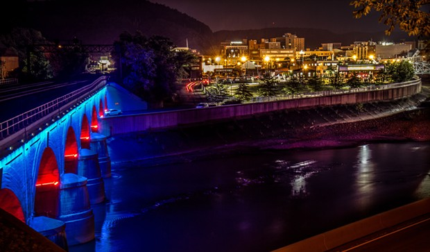 View of Downtown Johnstown from across the Stone Bridge. - PHOTO COURTESY OF PHIL BALKO