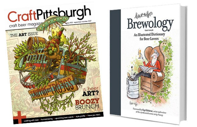 Two Pittsburgh publications made for beer lovers: Craft Pittsburgh magazine and Mark Brewer's Brewology
