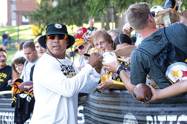 From wide receiver to restaurateur: Hines Ward - CP PHOTO BY JAKE MYSLIWCZYK
