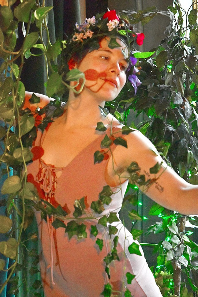 Abigail Lis-Perlis in folkLAB's Femme -  - PHOTO COURTESY OF AMY WHOOLER