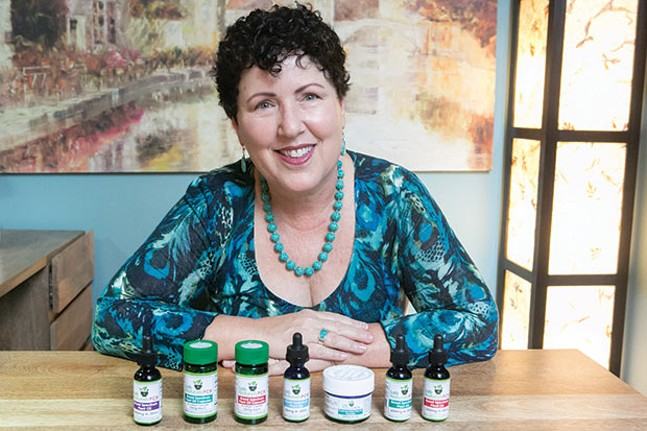 Susan Merenstein of Murray Avenue Apothecary - CP PHOTO BY JOHN COLOMBO