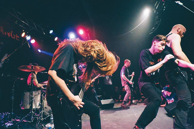 Code Orange at the Rex Theater, for Forever release - PHOTO COURTESY OF NICK SEYLER