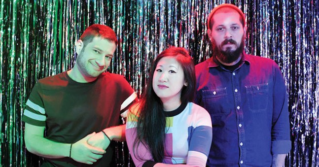From left to right: Ricky Moslen, Stephanie Tsong and Adam Shuck - PHOTO COURTESY OF JAN-TOSH GERLING
