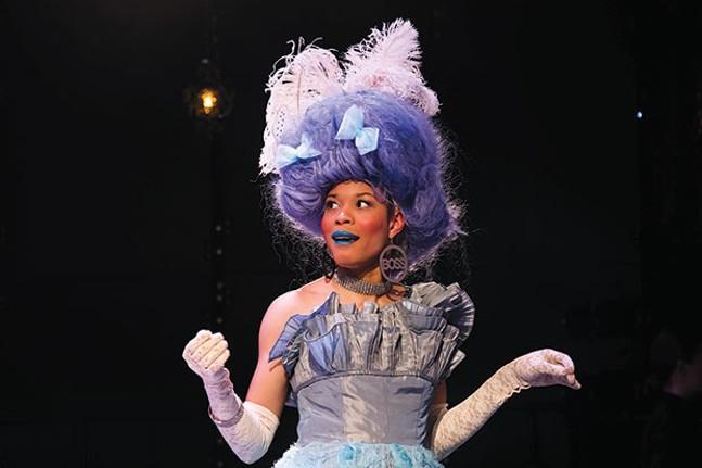 Alexis Primus in Marie Antoinette - PHOTO COURTESY OF SAMANTHA CAUN