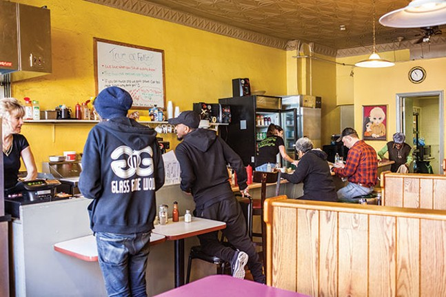 Inside O'Leary's - CP PHOTO BY VANESSA SONG