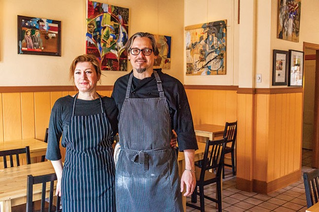 Yelena and Michael Barnhouse, of Lola Bistro - CP PHOTO BY VANESSA SONG
