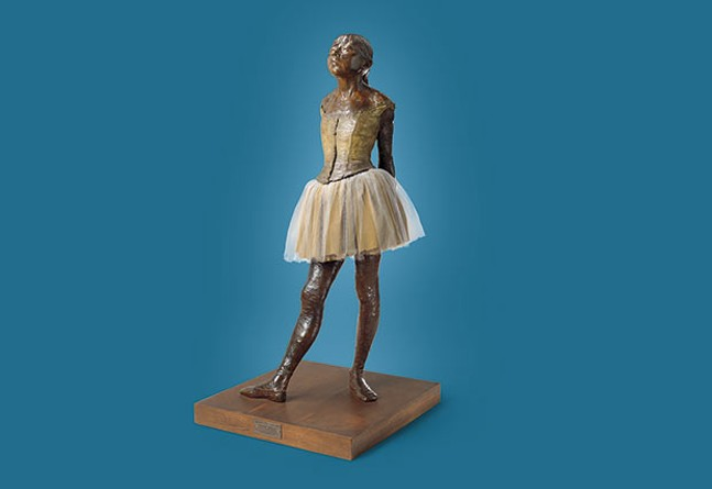 "Edgar Degas' ""Little Dancer Aged Fourteen"" - PHOTO COURTESY OF TRAVIS FULLERTON/VIRGINIA MUSEUM OF FINE ARTS"