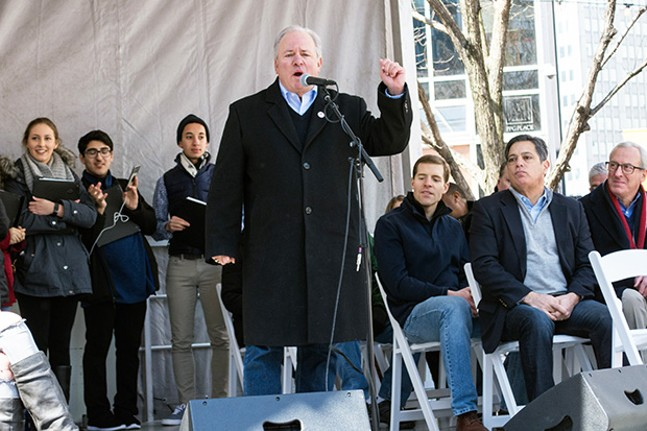 U.S. Rep. Mike Doyle (D-Forest Hills) - CP PHOTO BY JAKE MYSLIWCZYK