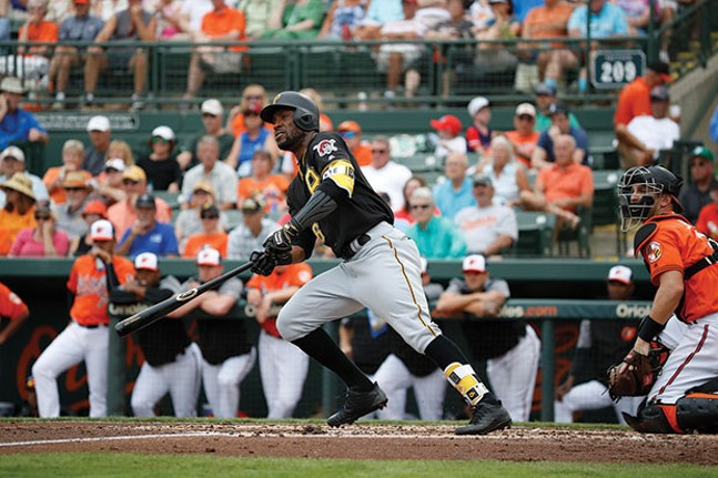 Starling Marte - PHOTO COURTESY OF DAVID ARRIGO/PITTSBURGH PIRATES
