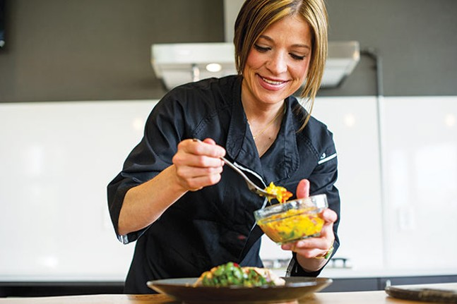 Chef Melissa Parks - PHOTO COURTESY OF THE HEALING CENTER