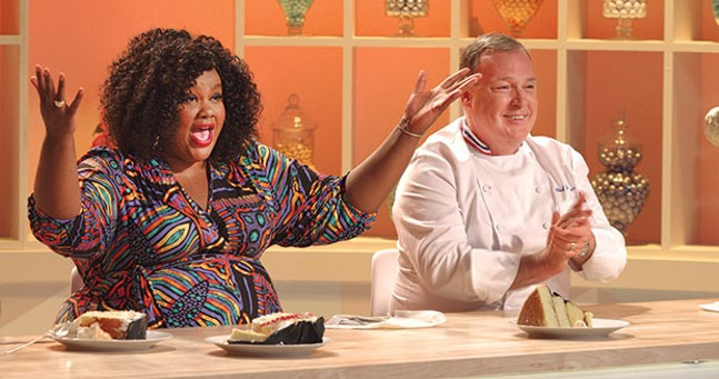 Nicole Byer and Jacques Torres of Nailed It! - PHOTOS COURTESY OF NETFLIX