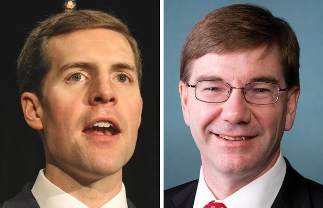 Conor Lamb (left) and Keith Rothfus (right)