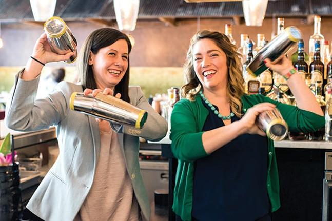 The Gretas: Greta Harper and Greta Harmon - CP PHOTO BY JAKE MYSLIWCZYK