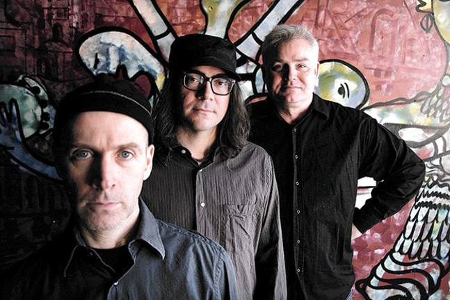 From left: Joe Lally, Anthony Pirog and Brendan Canty of The Messthetics - PHOTO COURTESY OF ANTONIA TRICARICO