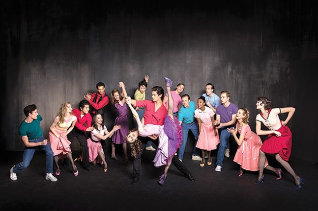 "Pittsburgh Ballet Theatre in ""West Side Story Suite"" - PHOTO COURTESY OF DUANE RIEDER"