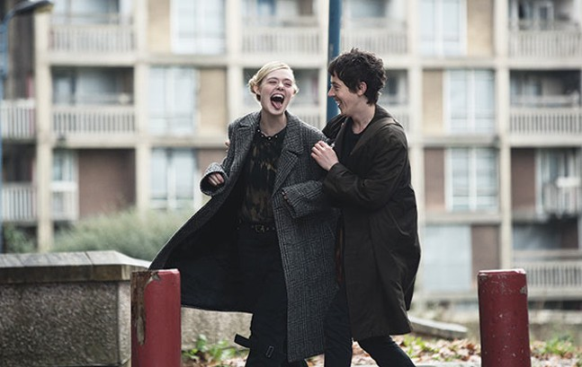 How to Talk to Girls at Parties: Elle Fanning and Alex Sharp - PHOTO COURTESY OF DEAN ROGERS